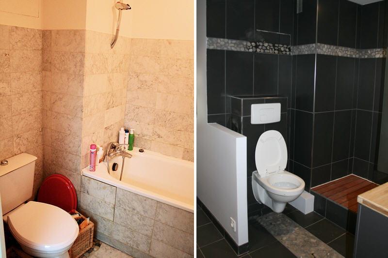 place aux wc suspendus r novation d 39 une suite parentale journal des femmes. Black Bedroom Furniture Sets. Home Design Ideas