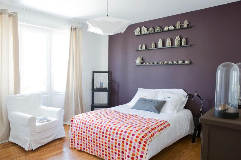Deco chambre violet blanc ~ Design de maison