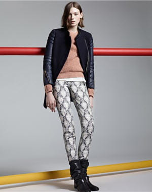 pantalon 'risk' de maje