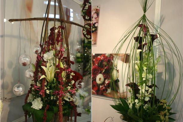Compositions Florales Tonnantes Salon Du Mariage Et Du