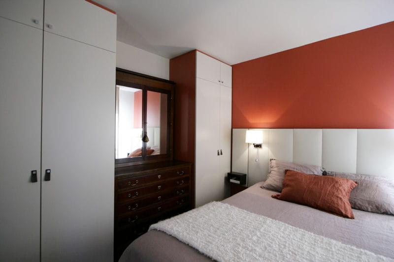 Chaleur et douceur dans la chambre avant apr s un duplex ethnique l 39 architecture tonnante for Chambre mansardee chaleur