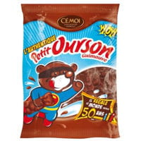 cemoi sachet petit ourson guimauve 50 ans 180g def
