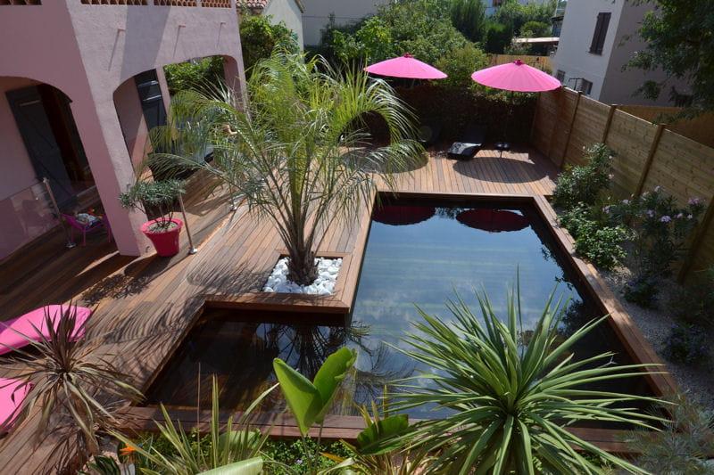 Int gration dans le paysage eric wettig piscines et for Piscine et paysage