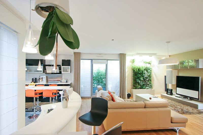 Un duplex familial et contemporain journal des femmes - Deco appartement duplex contemporain ...
