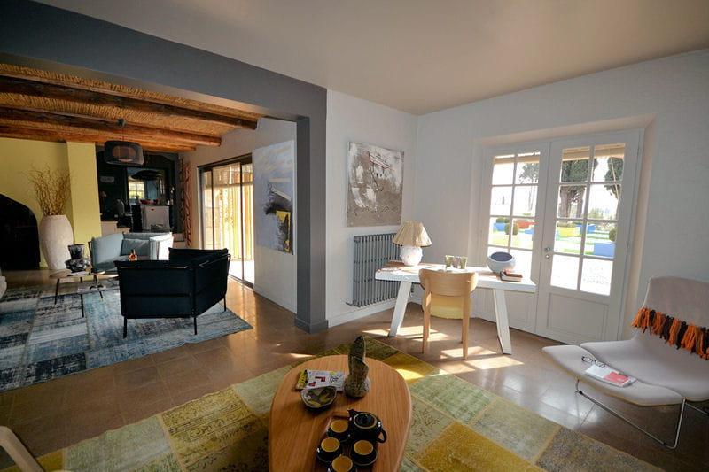 Du bleu au jaune le mas de mon p re une maison proven ale la d co vintag - Deco maison provencale ...