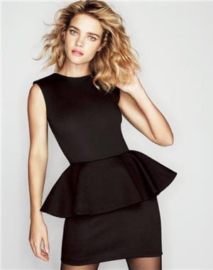 robe noire basques d 39 etam les petites robes noires. Black Bedroom Furniture Sets. Home Design Ideas
