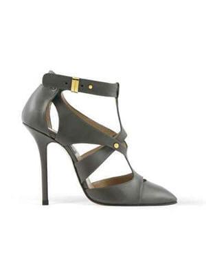 escarpins gris argent d 39 elie saab les escarpins de luxe nous font r ver journal des femmes. Black Bedroom Furniture Sets. Home Design Ideas