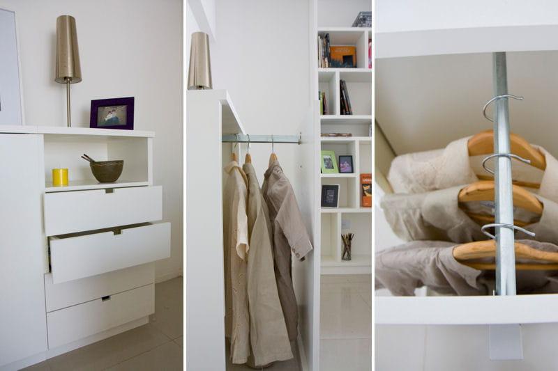 un petit placard qui a tout d 39 un grand un petit espace parfaitement optimis journal des femmes. Black Bedroom Furniture Sets. Home Design Ideas