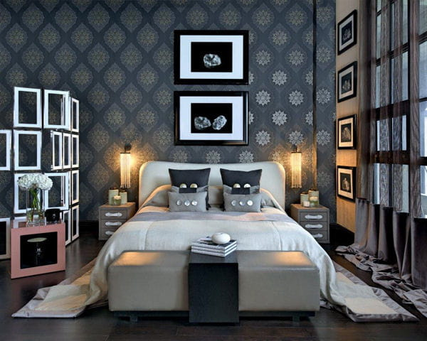 banc de lit par kelly hoppen de nouvelles chambres au bon go t d co journal des femmes. Black Bedroom Furniture Sets. Home Design Ideas