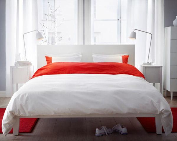 structure de lit nordli d 39 ikea de nouvelles chambres au bon go t d co journal des femmes. Black Bedroom Furniture Sets. Home Design Ideas