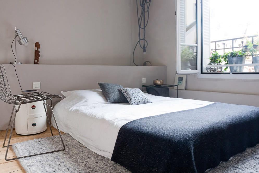 de petits murets bien pratiques un int rieur au top de la d co vintage journal des femmes. Black Bedroom Furniture Sets. Home Design Ideas