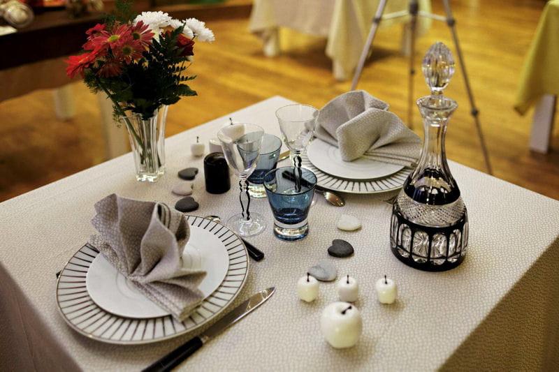 décoration de table au quotidien #2