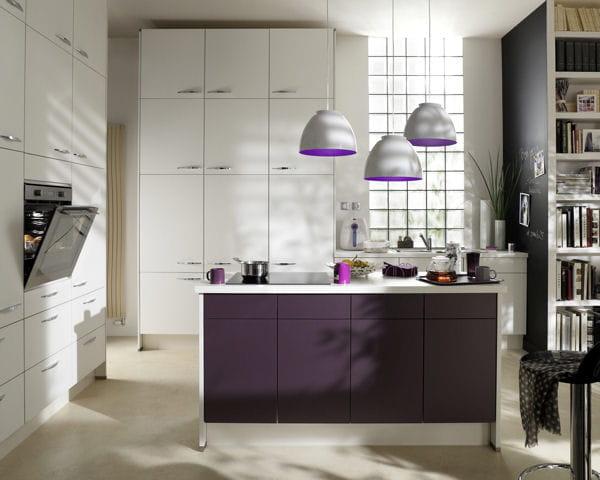 Ilot de cuisine kor al de but cuisines l 39 lot trouve sa - Cuisine design petite surface ...