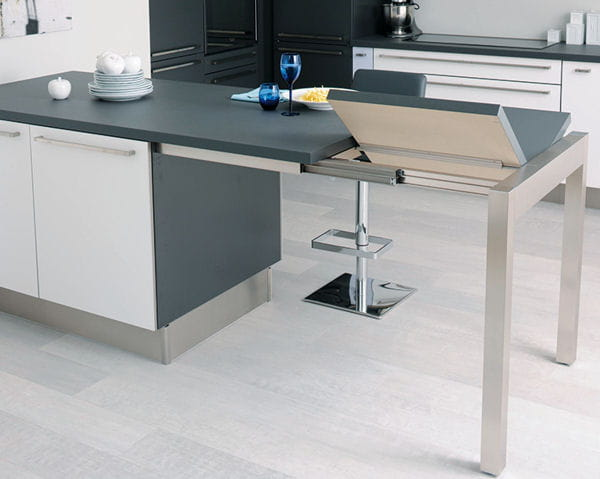 Cr er un ilot de cuisine extensible bricolage forum for Ilot central table extensible