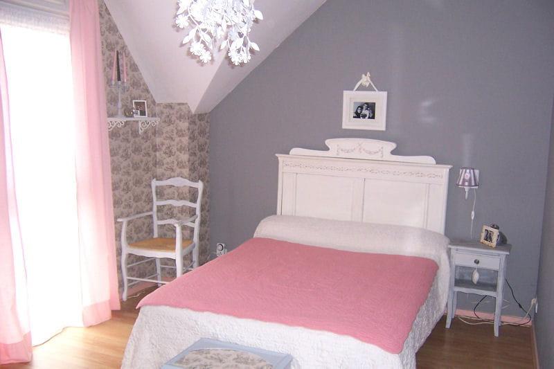 la chambre de corinne shabby chic vos plus belles chambres romantiques journal des femmes. Black Bedroom Furniture Sets. Home Design Ideas