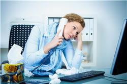 le stress favorise l'apparition des crises migraineuses.
