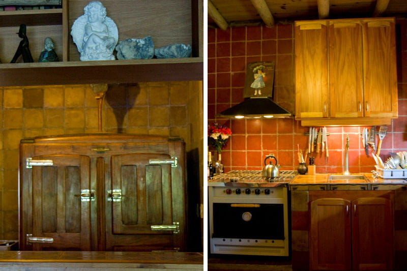 une cuisine chaleureuse une maison toute en couleurs et. Black Bedroom Furniture Sets. Home Design Ideas