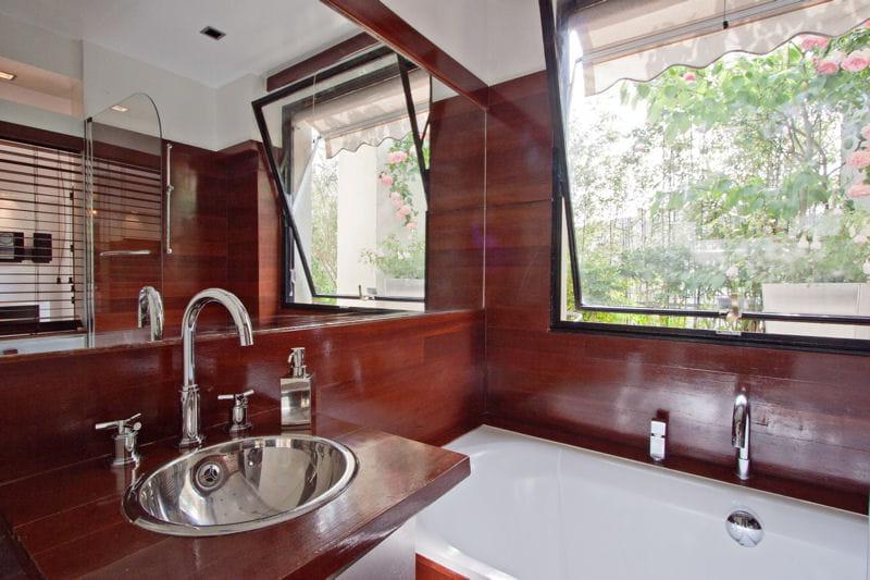 Ambiance marine salle de bains et bois un duo suivre journal des femmes - Salle de bain marine ...