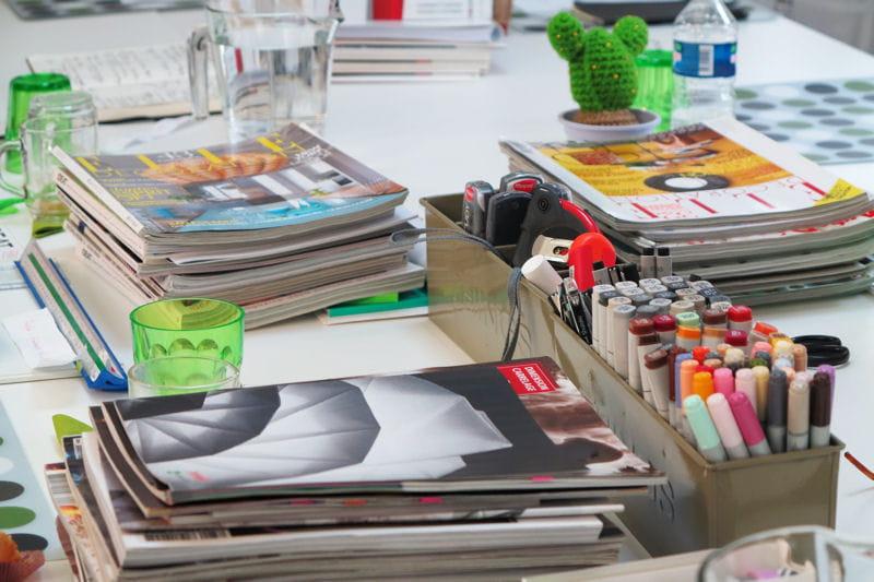 Des Piles De Magazines D Co Pour L 39 Inspiration On A