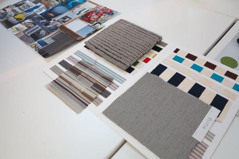 Planches de style et mati res on a test la formation for Formation decoration d interieur