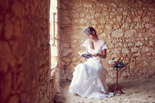 d co de mariage rustique chic robe majestueuse
