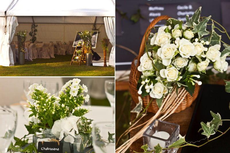 Un mariage champ tre par so beautiful wedding mariages d 39 hiver 14 d c - Mariage deco champetre ...