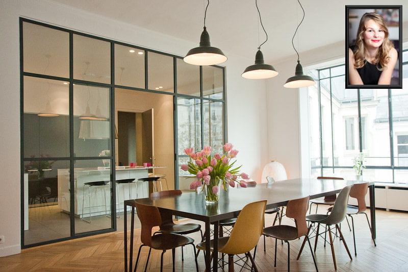 Un grand appartement moderne pour solange d co les for Les appartement moderne