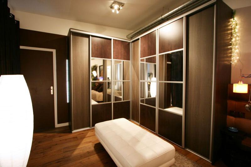 un dressing grandiose une maison loft chaleureuse et m tiss e journal des femmes. Black Bedroom Furniture Sets. Home Design Ideas