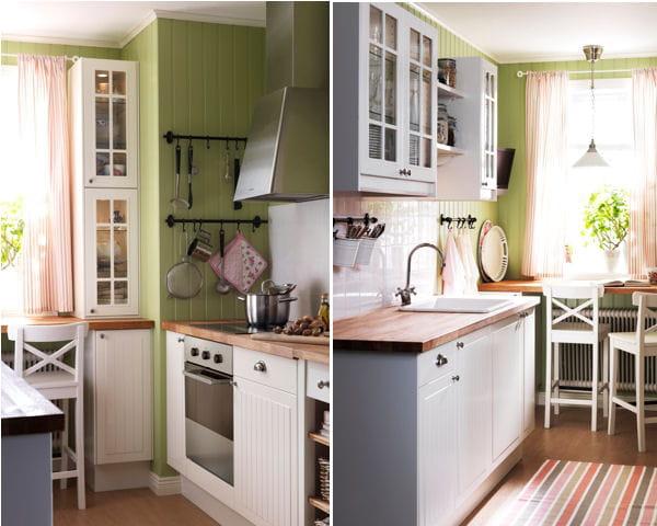 douceur d 39 autrefois cuisine ikea des ambiances petit prix journal des femmes. Black Bedroom Furniture Sets. Home Design Ideas