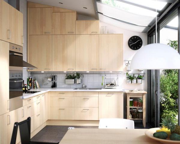 Optimisation int grale de l 39 espace cuisine ikea des - Ikea cuisine faktum ...