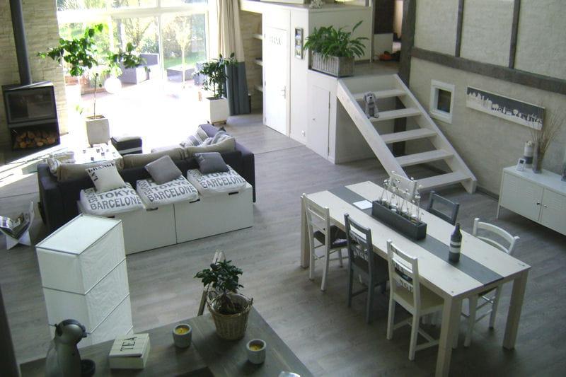 Un bel espace a r et fonctionnel visitez la maison de for Decorer un salon salle a manger