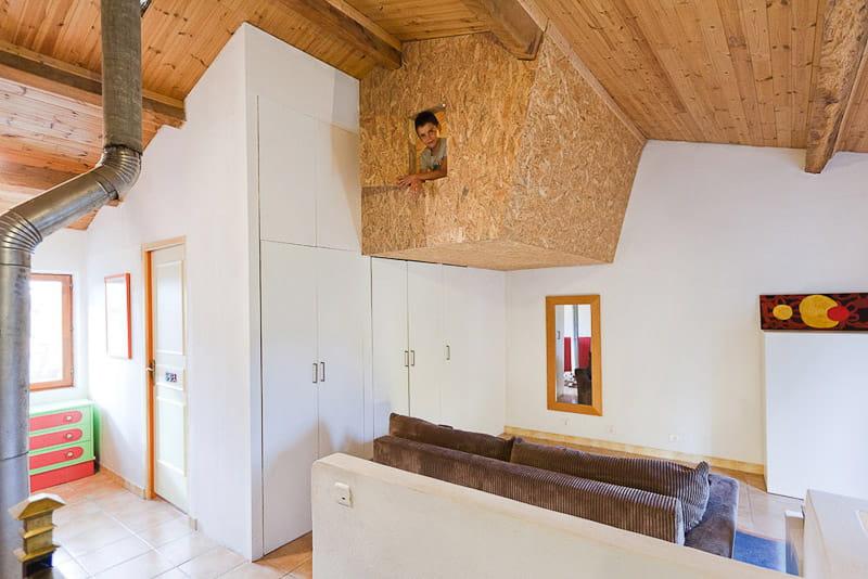 la chambre apr s travaux une cabane dans une chambre d
