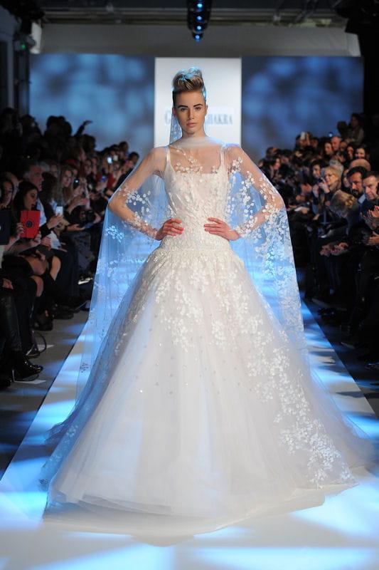 D fil georges chakra haute couture printemps t 2013 for Prix de robe de mariage en or georges chakra