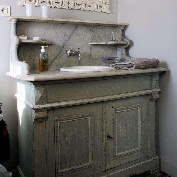 Un authentique meuble de barbier 20 meubles vasque r cup 39 pour la salle - Meuble vasque original ...