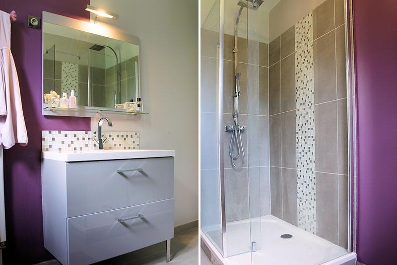 la salle d 39 eau visitez la maison de laurence journal des femmes. Black Bedroom Furniture Sets. Home Design Ideas