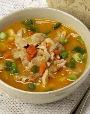 Soupe minceur soupe chinoise au poulet for Soupe pour mincir