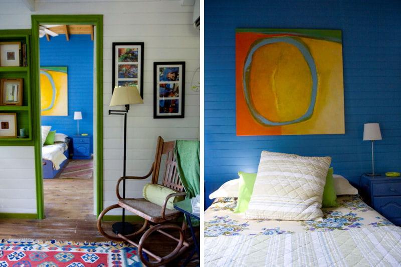 lambris du sol au plafond une maison en bois la d co arc en ciel journal des femmes. Black Bedroom Furniture Sets. Home Design Ideas