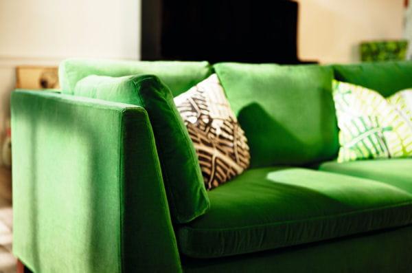 canap 3 places stockholm d 39 ikea ikea zoom sur la nouvelle collection stockholm journal. Black Bedroom Furniture Sets. Home Design Ideas