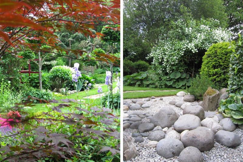 le jardin japonais visitez le jardin de genevi ve journal des femmes. Black Bedroom Furniture Sets. Home Design Ideas