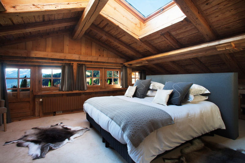 Suite parentale sous les toits un chalet la d co for Suite parentale de luxe