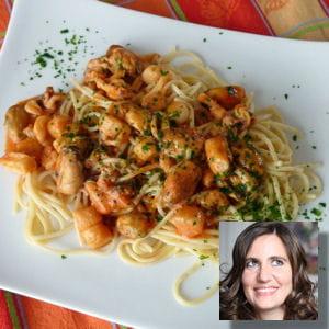 Spaghetti aux fruits de mer recettes italiennes pr f r es de la r daction journal des femmes - Pates aux fruits de mer recette italienne ...
