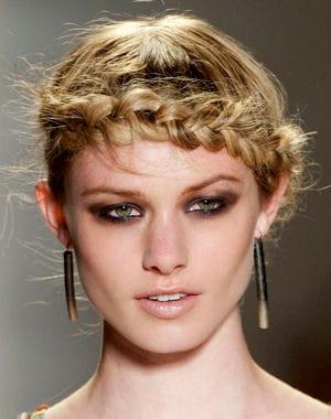 Coiffure 2013 la tresse couronne coupe de cheveux les plus belles coiffures du printemps - Coiffure tresse couronne ...
