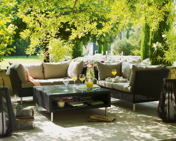 salon de jardin 40 nouveaut s outdoor journal des femmes. Black Bedroom Furniture Sets. Home Design Ideas