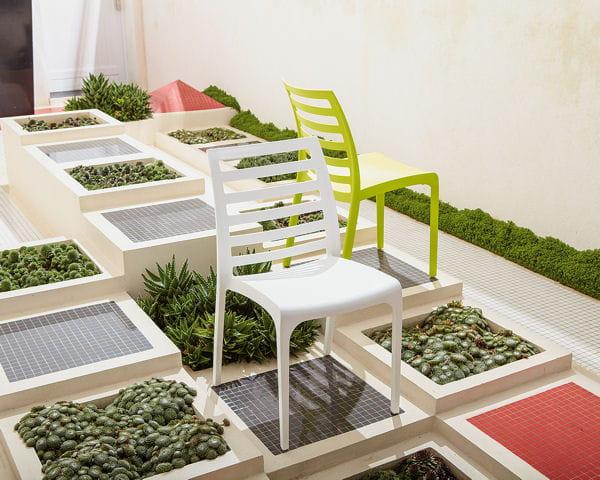 Chaise empilable mariel d 39 alinea salon de jardin 40 - Salon jardin empilable ...