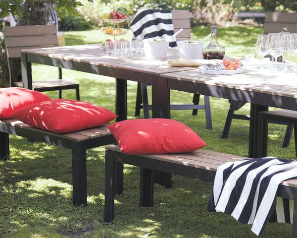 mobilier de jardin falster d 39 ikea salon de jardin 40 nouveaut s outdoor journal des femmes. Black Bedroom Furniture Sets. Home Design Ideas