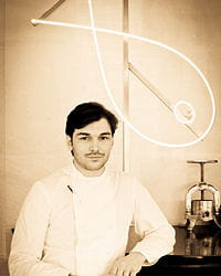 thibault sombardier, chef du restaurant antoine
