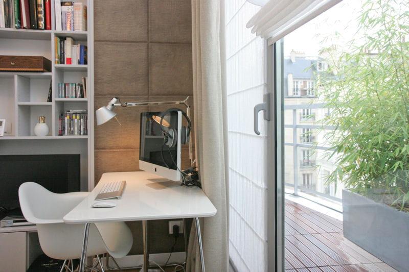 un rideau v g tal balcon 35 id es d co pour l 39 am nager journal des femmes. Black Bedroom Furniture Sets. Home Design Ideas