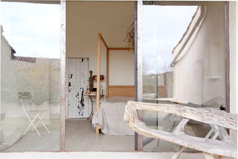 Banc en bois flott balcon 33 id es d co pour l for Bois flotte blanchi