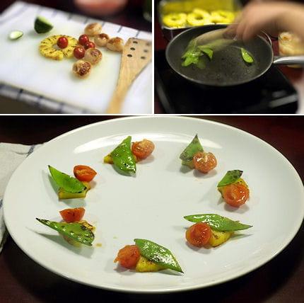 Cuisson et dressage de la garniture cuisiner tha c 39 est - Dressage des plats en cuisine ...