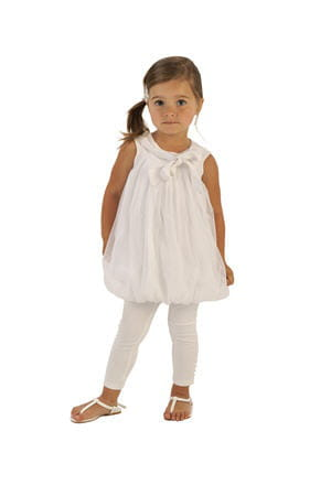 robe blanche little couture